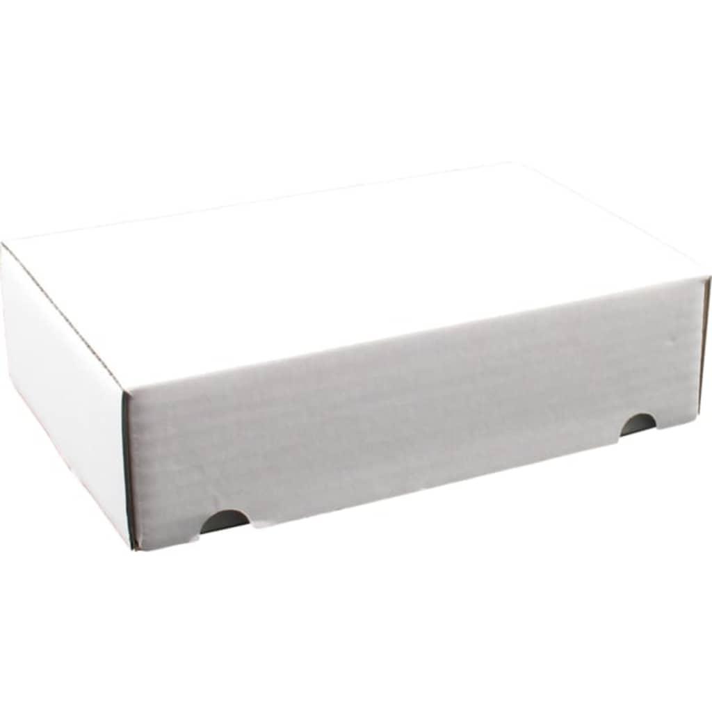 Afbeelding van DIVERSEN SendProof® Postpakketdoos, Golfkarton, 220x155x60mm, gestanst, wit