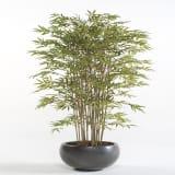 Emerald Kunstpflanze japanischer Bambus 150 cm