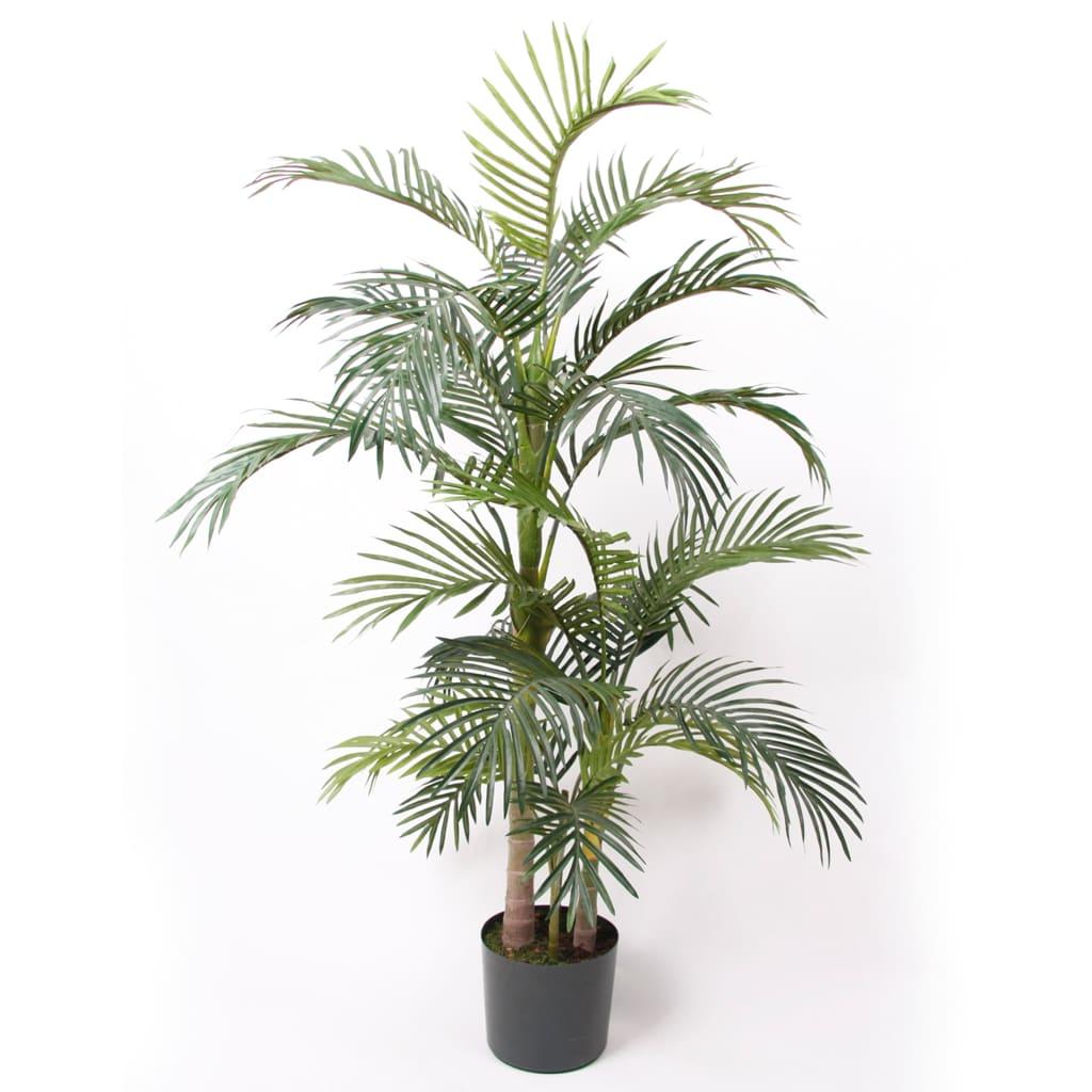 Emerald Palmier artificial Areca, în ghiveci, 130 cm vidaxl.ro