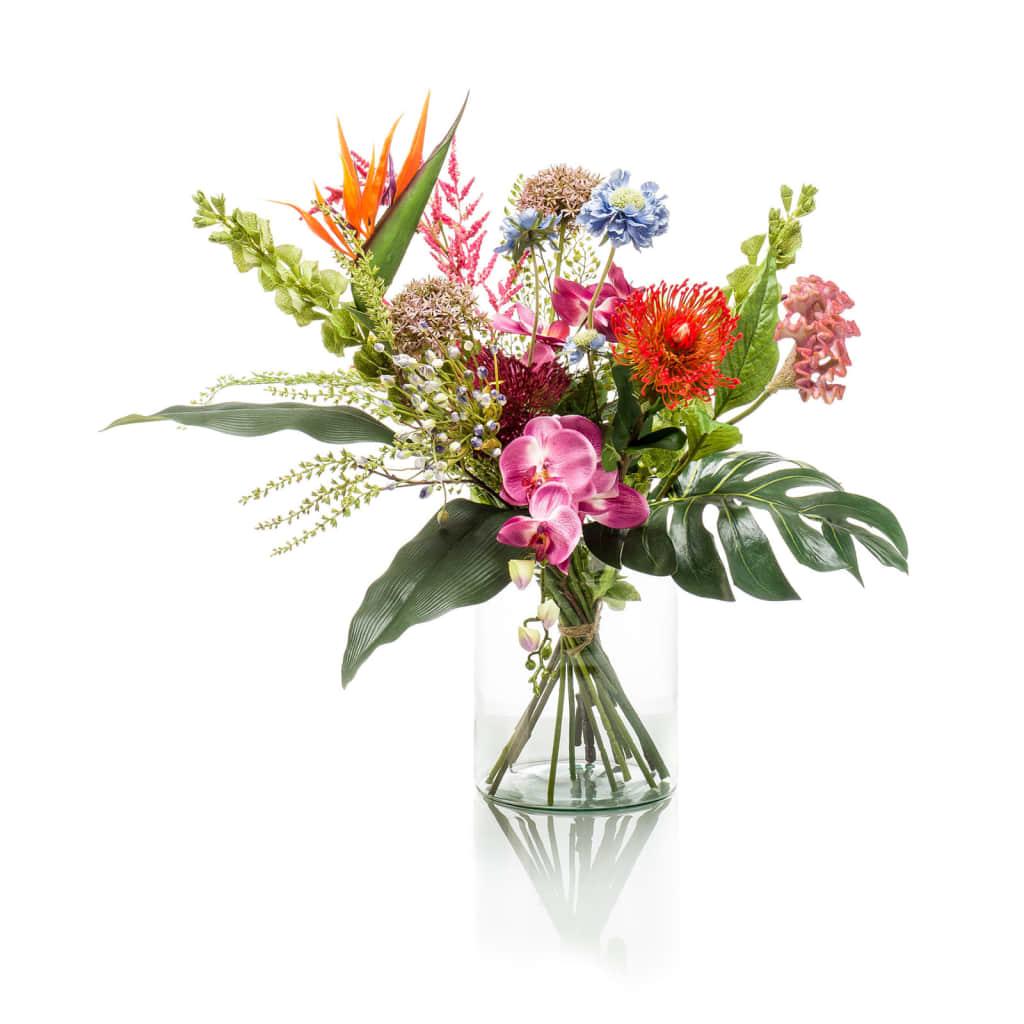 Emerald Buchet de flori artificial Exotic Mix vidaxl.ro