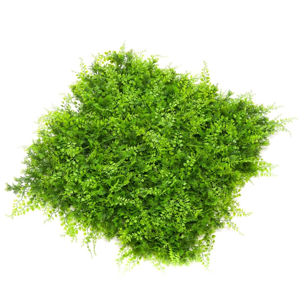 Emerald Covorașe amestec conifer-ferigă artificială, 4 buc., 50x50 cm poza 2021 Emerald