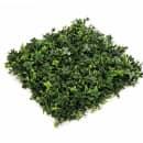 Emerald Panele ze sztucznych liści traw, 4 szt., 50x50 cm, 417983