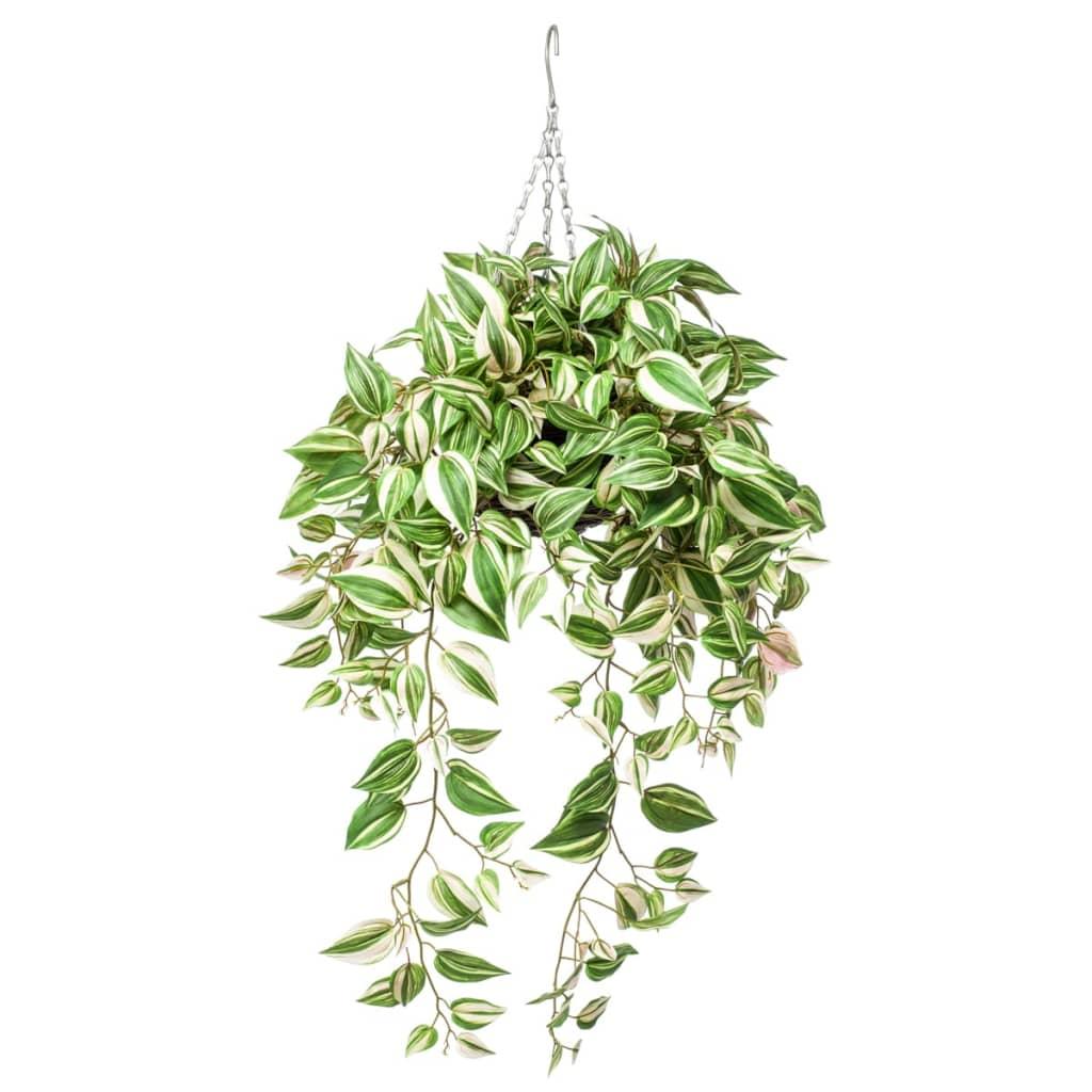 Emerald Kunstplant tradescantia hangend 70 cm 420846