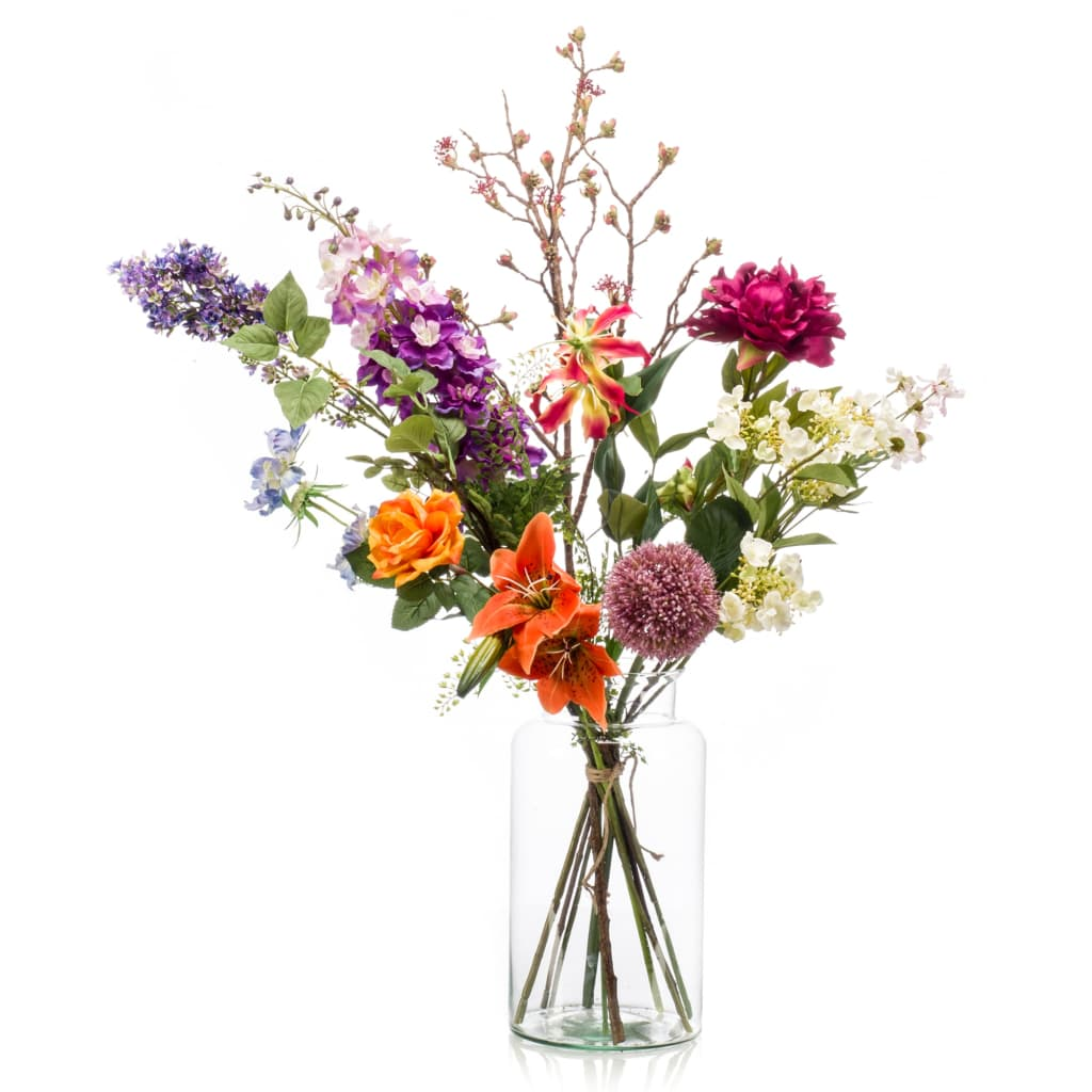 Emerald Buchet de flori artificiale Flower Bomb XL vidaxl.ro