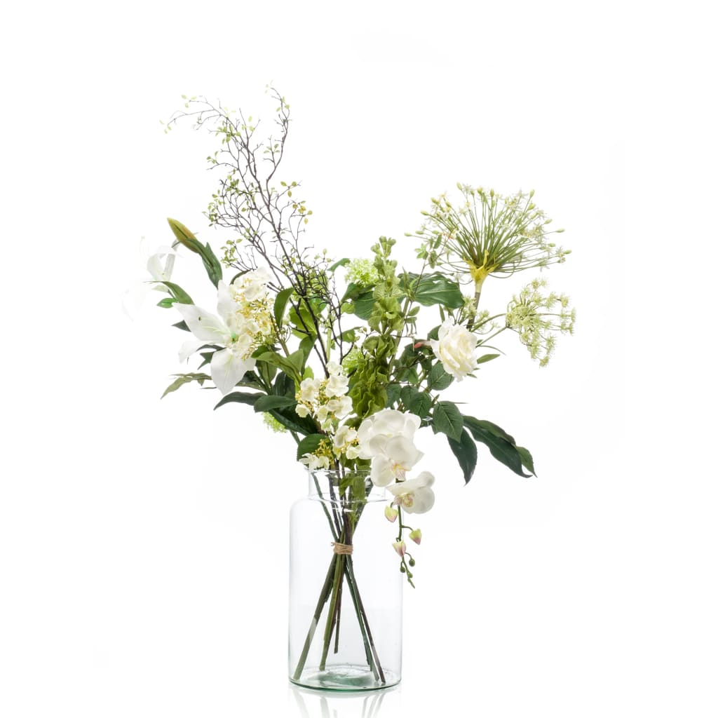 Emerald Bouquet Artificiale Shine XL