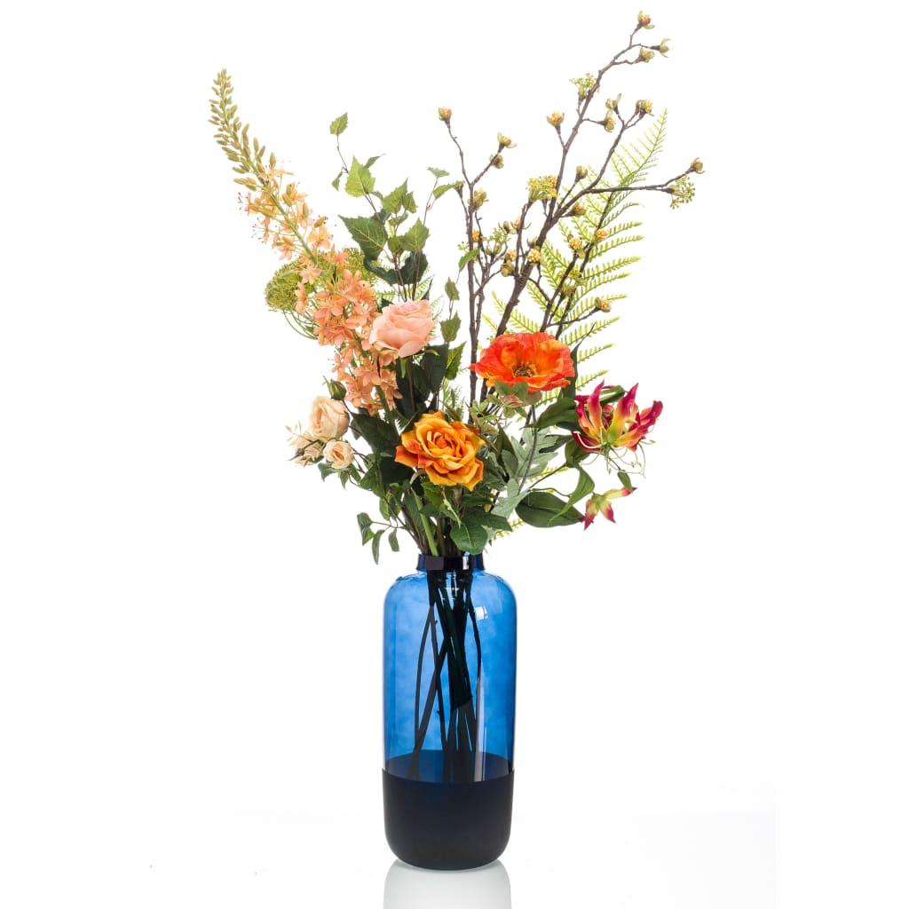 Emerald Buchet de flori artificiale Happy Orange XL vidaxl.ro