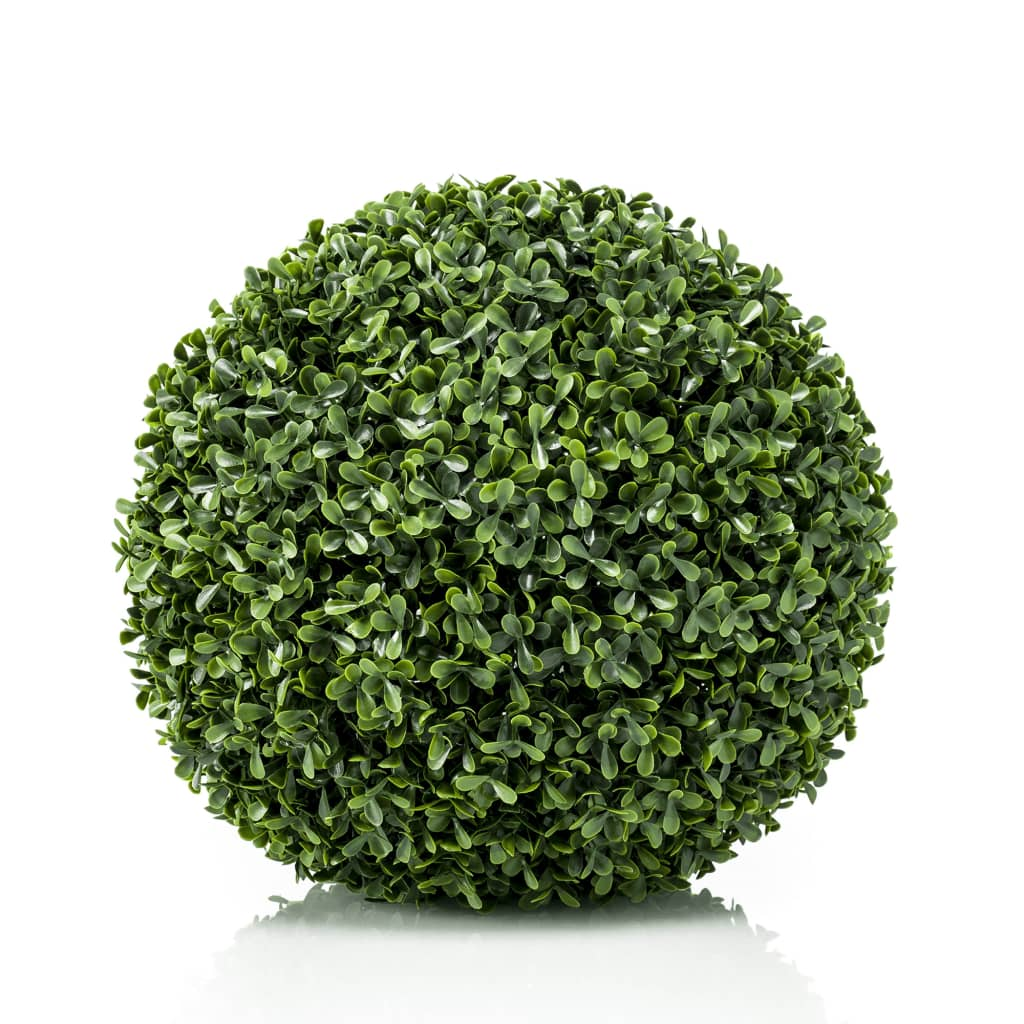 Emerald Glob de cimișir artificial, verde, UV 48 cm vidaxl.ro