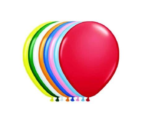 Ballons en différentes couleurs 100 Pièces