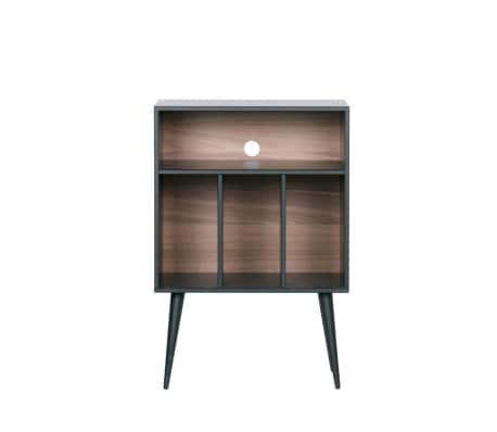 James - Petit meuble de rangement en bois - Couleur - Noir[1/6]