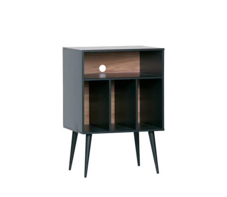 James - Petit meuble de rangement en bois - Couleur - Noir[3/6]