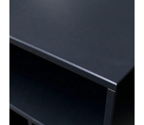 James - Petit meuble de rangement en bois - Couleur - Noir[5/6]