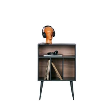 James - Petit meuble de rangement en bois - Couleur - Noir[4/6]