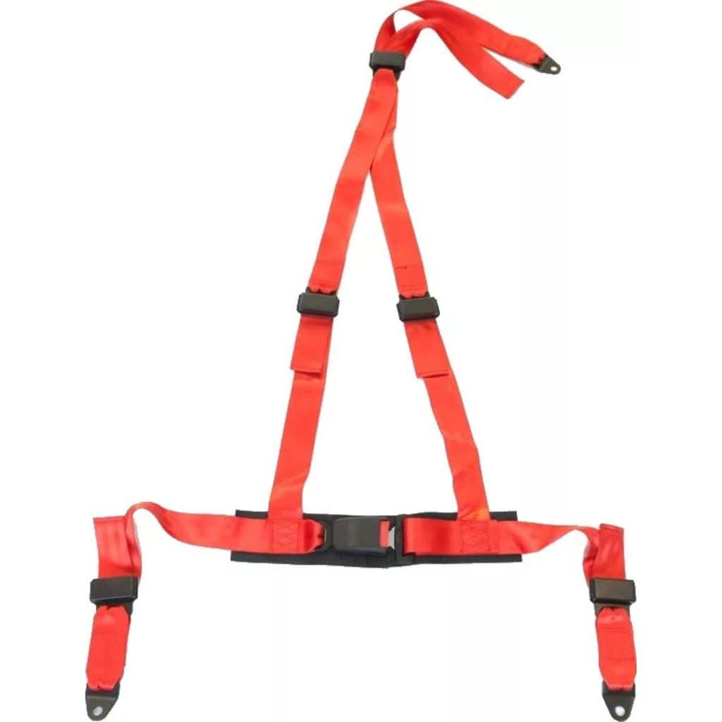 Afbeelding van AutoStyle 3 Punts sportgordel schroefbevestiging rood