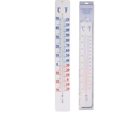 Esschert Design Termometras, Tvirtinamas prie Sienos, 90 cm, TH9