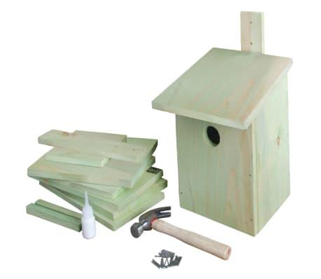 esschert design nistkasten bausatz 21 3x17x23 3 cm kg52 g nstig kaufen. Black Bedroom Furniture Sets. Home Design Ideas