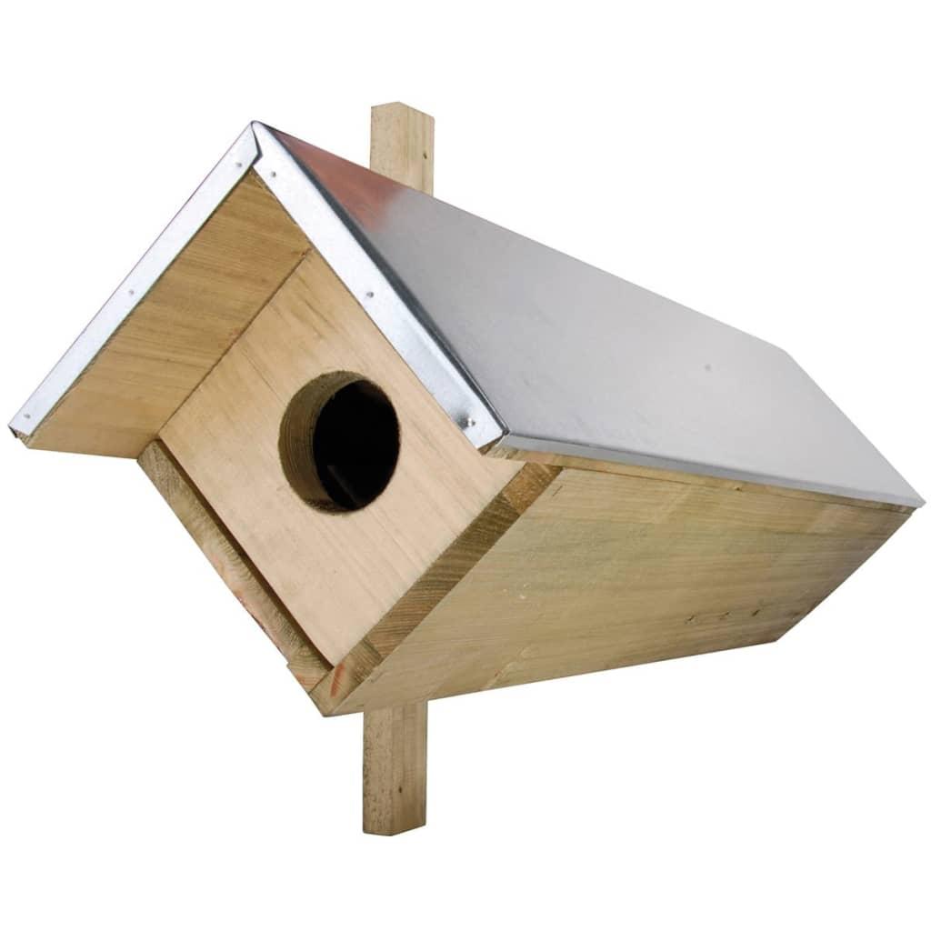 Afbeelding van Esschert Design Kleine uilenkast 80,5x31x52 cm NK44