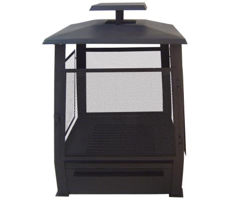 Esschert Design Foyer pagode 59 x 59 x 78 cm Noir FF122