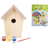Esschert Design DIY Nesting Box com pintura 14.8x11.7x20 cm KG145