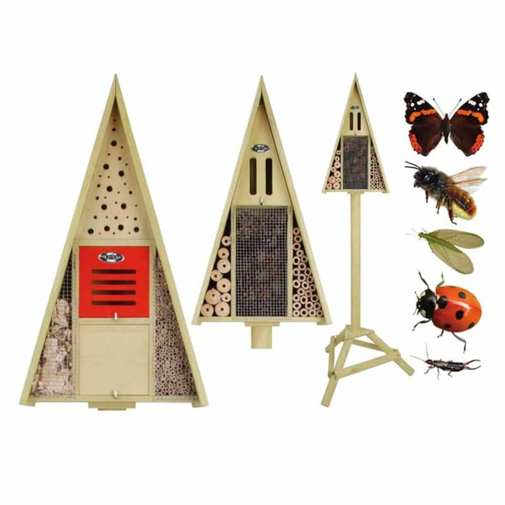 Insectenhotel op paal giftbox