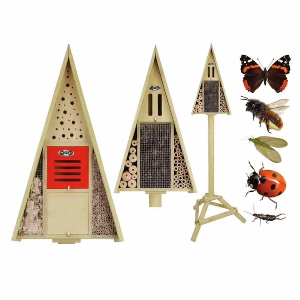 Esschert Design Cuibar insecte, montare pe stâlp, în cutie cadou WA18 imagine vidaxl.ro