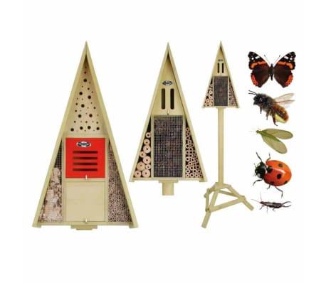 Acheter h tel insectes sur poteau en bo te cadeau for Hotel a insecte acheter