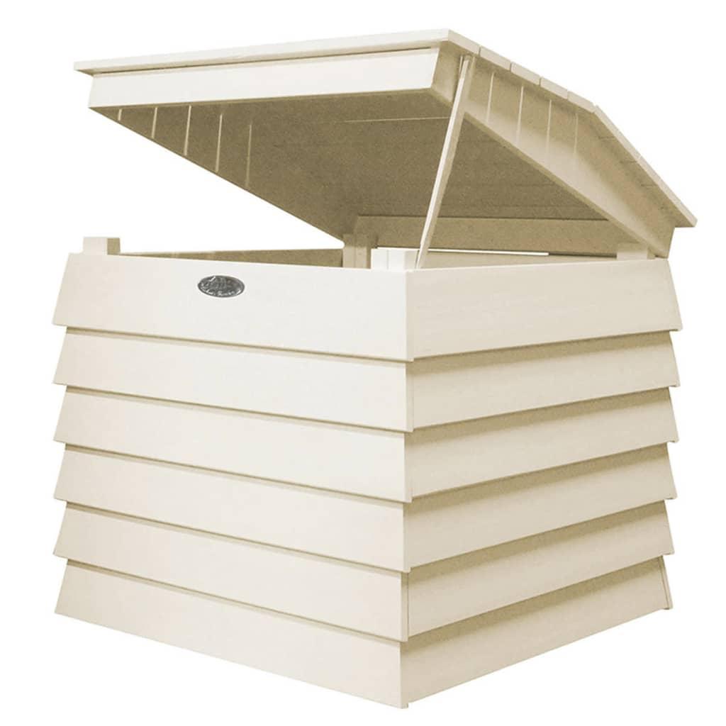 Afbeelding van Esschert Design Composter Wit CF44W