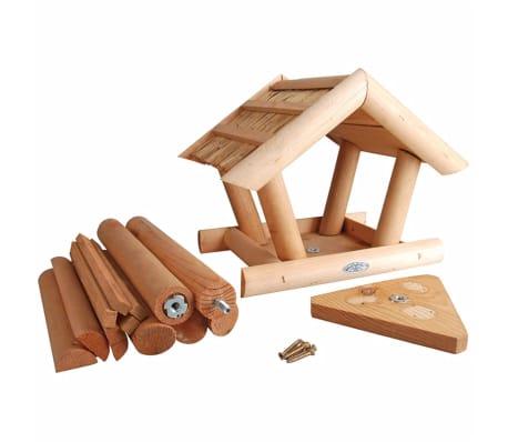 acheter mangeoire pour oiseaux avec toit en chaume esschert design fb254 pas cher. Black Bedroom Furniture Sets. Home Design Ideas