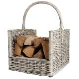 Esschert Design Firewood Basket Grey MW42