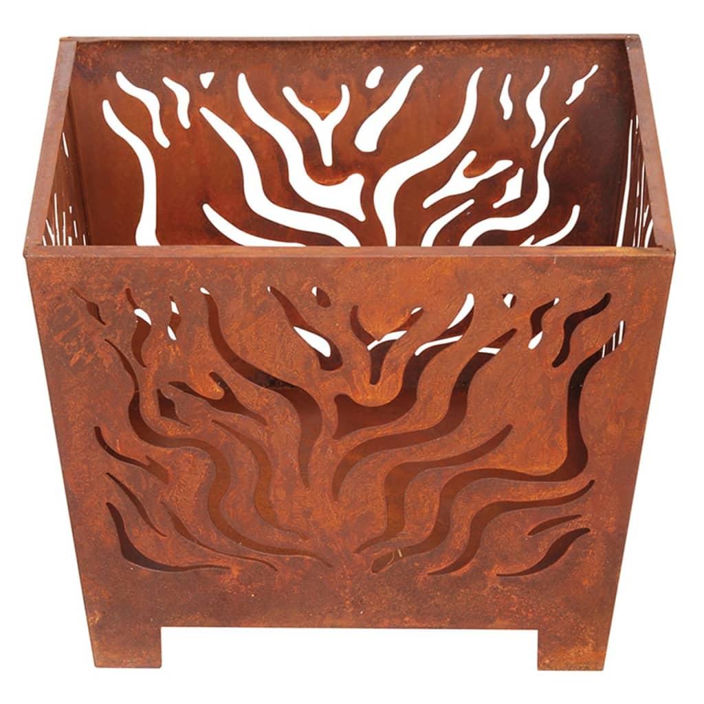 99404615 Esschert Design Feuerkorb quadratisch Rost S FF161