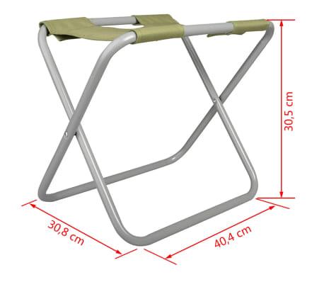 Esschert Design Sodo įrankių krepšys ir kėdutė, pilka, GT85[5/5]