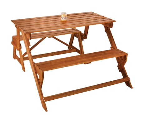 Banc Convertible En Table De Pique Nique Esschert Design Bl059