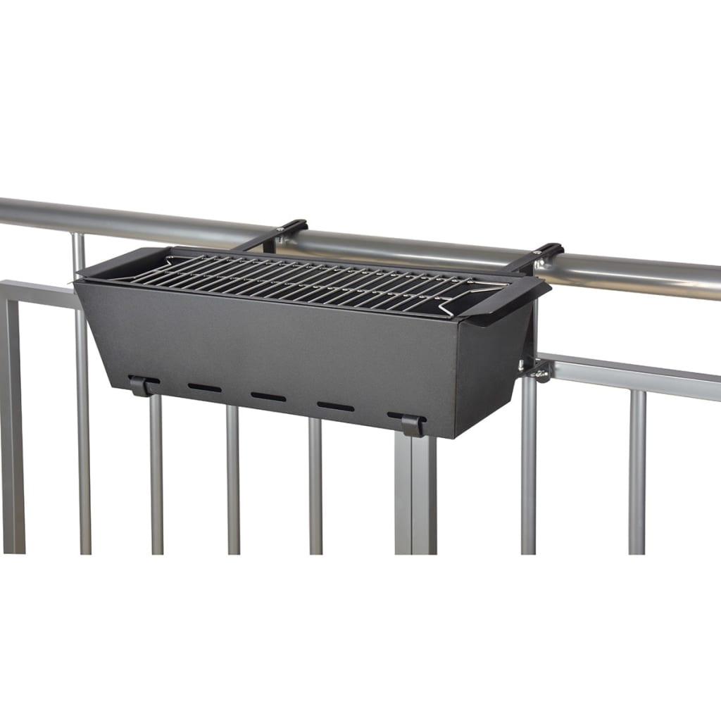 Afbeelding van Esschert Design Balkon barbecue zwart BL096