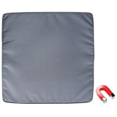 Coussin de chaise carré aimanté gris Esschert Design BL101[1/2]