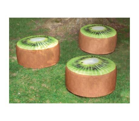 Esschert Design Pouf gonflable d'extérieur Kiwi 58 cm[3/4]