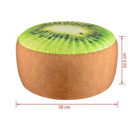 Esschert Design Pouf gonflable d'extérieur Kiwi 58 cm[4/4]