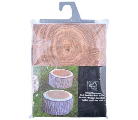 Pouf d'extérieur gonflable motif tronc d'arbre Esschert Design BK014[2/2]