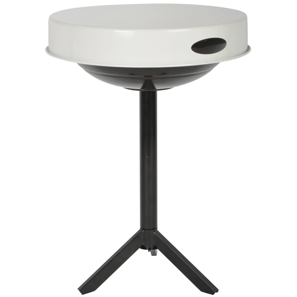 Afbeelding van Esschert Design BBQ-tafel koolstofstaal wit FF236