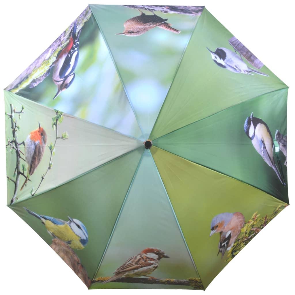 99421307 Esschert Design Regenschirm Birds 120 cm TP178