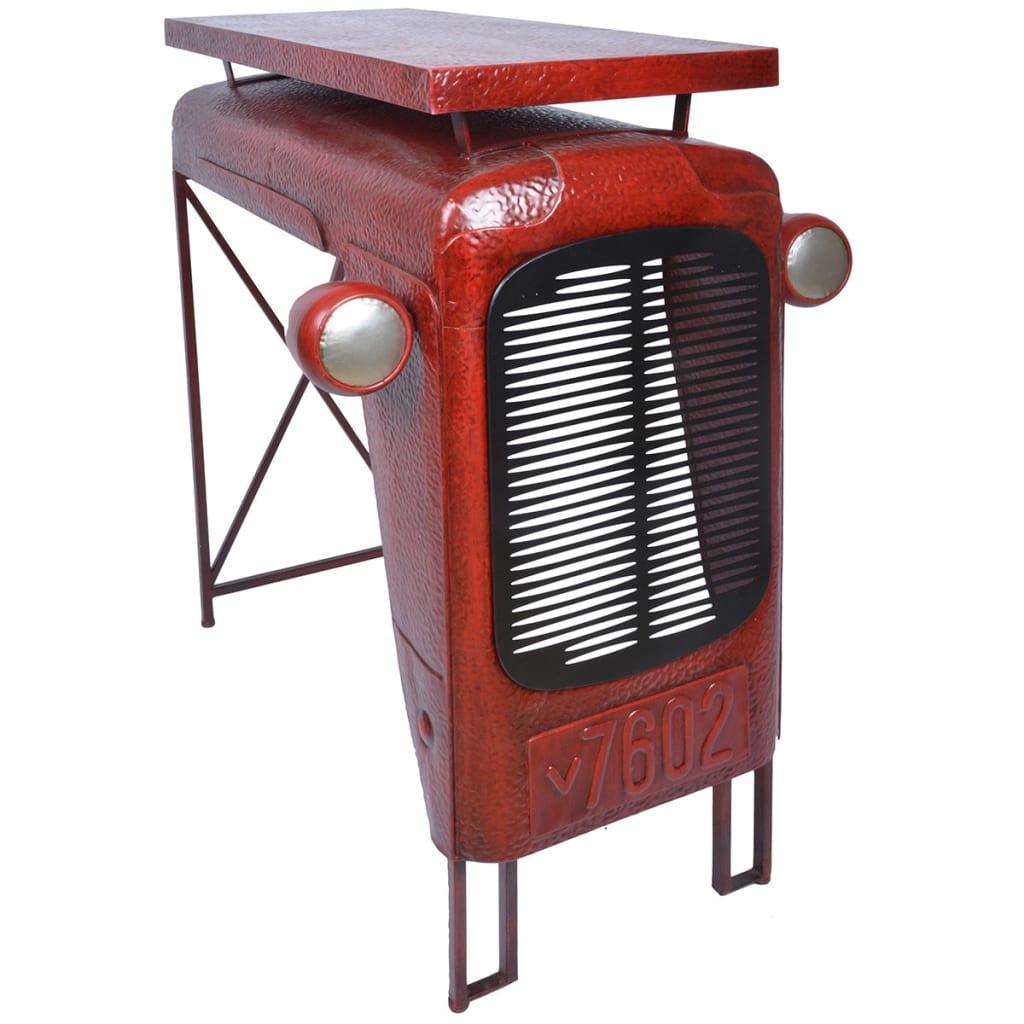 """Esschert Design Stůl """"Traktor"""" červený IH033"""
