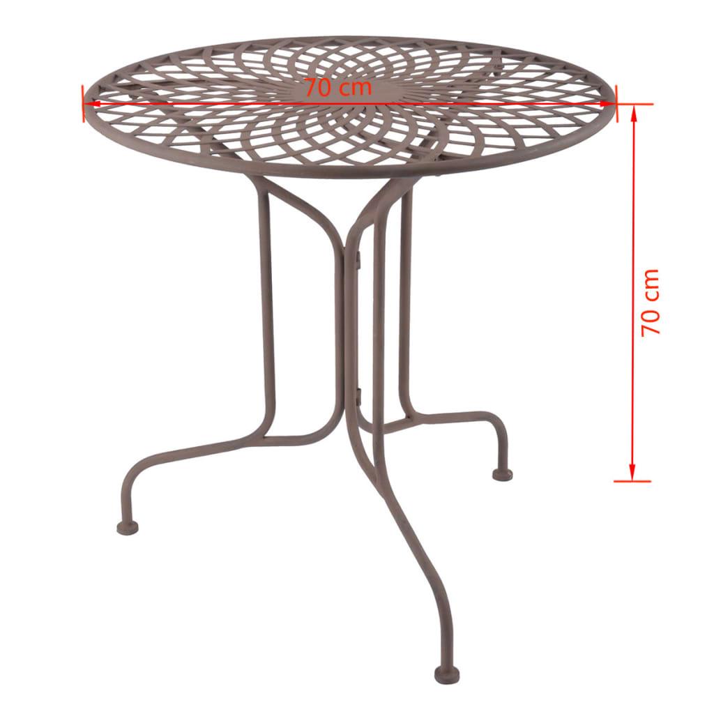 Esschert Design Tafel metaal oud-Engelse stijl MF007