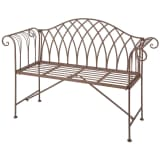 Esschert Design Gartenbank Metall Viktorianischer Stil MF009