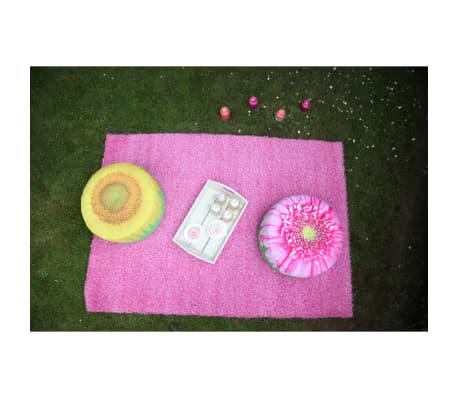 Esschert Design Pouf d'exterieur gonflable motif tournesol 58 cm[5/5]