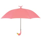 Esschert Design Paraply Flamingo 98 cm rosa TP194
