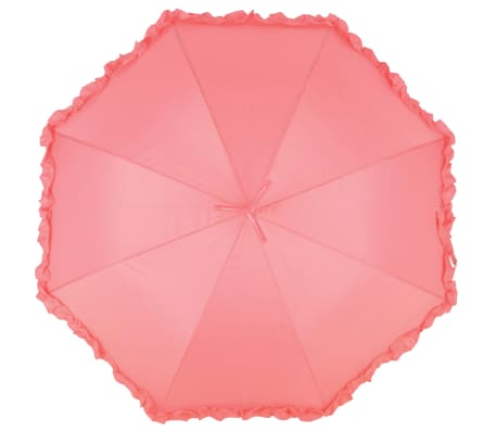 Esschert Design Regenschirm mit Rüschen Flamingo 98 cm Rosa TP203[2/4]