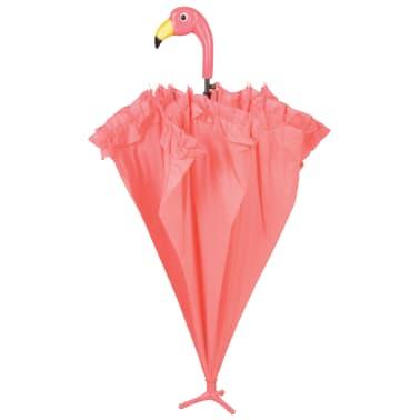 Esschert Design Regenschirm mit Rüschen Flamingo 98 cm Rosa TP203[3/4]