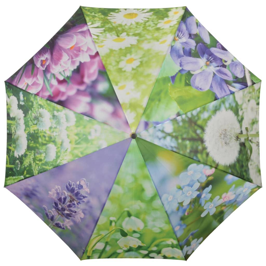 99421310 Esschert Design Regenschirm Flowers 120 cm TP210