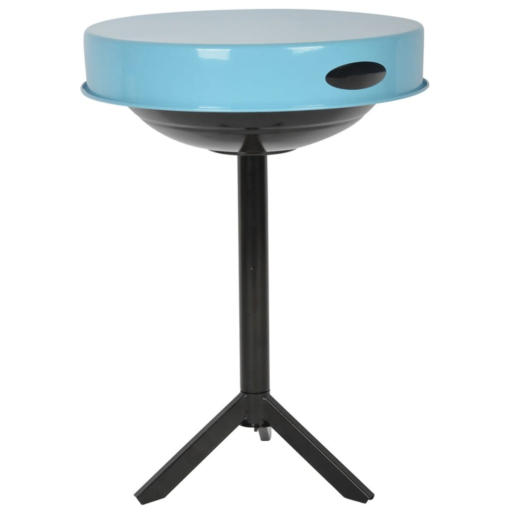 Afbeelding van Esschert Design BBQ-tafel koolstofstaal blauw FF251