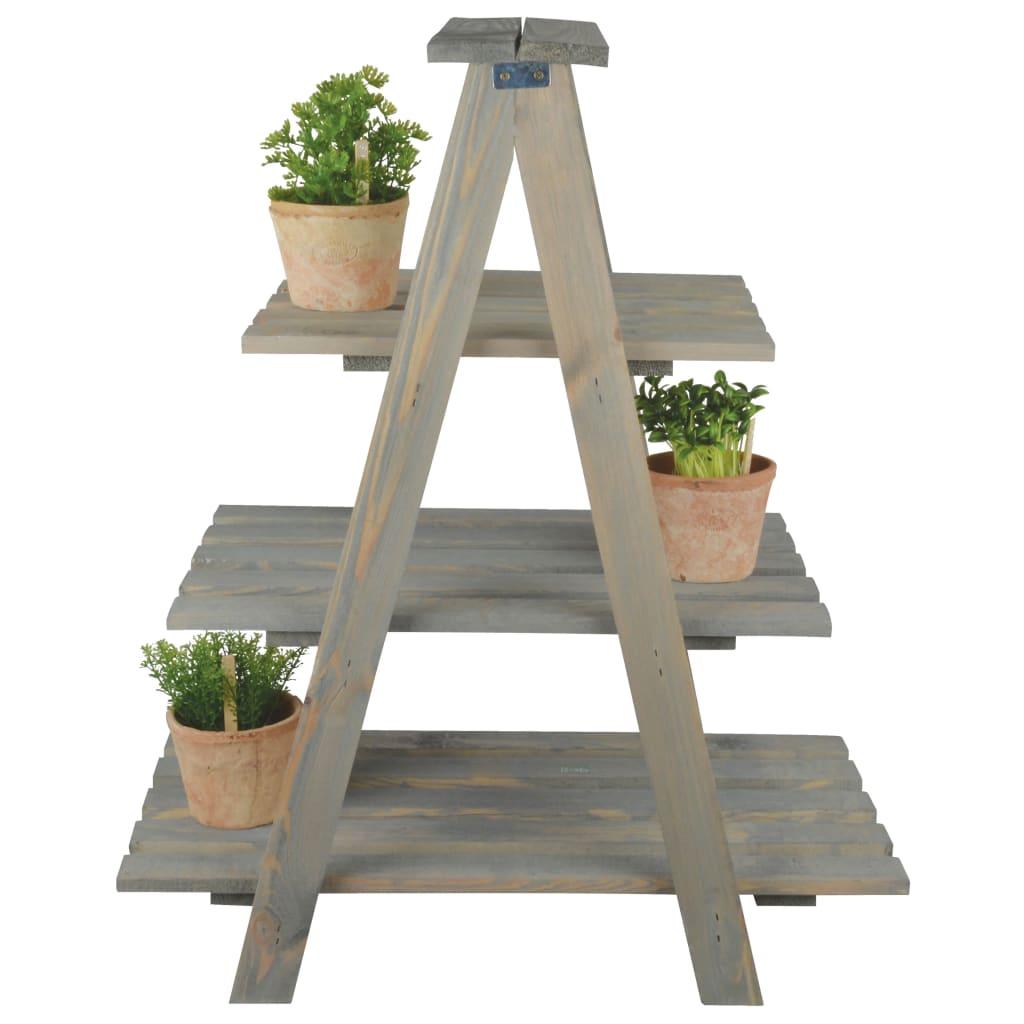 Esschert Design Plantenladder driehoekig