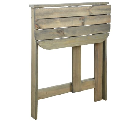Tavolo Pieghevole Da Muro.Dettagli Su Esschert Design Tavolo Pieghevole Da Parete Legno Grigio Tavolino Laterale