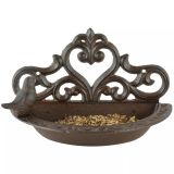 Esschert Design Bird Feeder Brown Cast Iron BR26